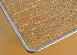 Rectangle Wire Mesh Tray Stainless Steel 304 Dehydrator Drying