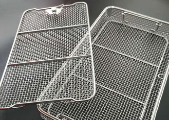 Surgical Instruments Disinfection 40X25CM Stainless Steel Basket